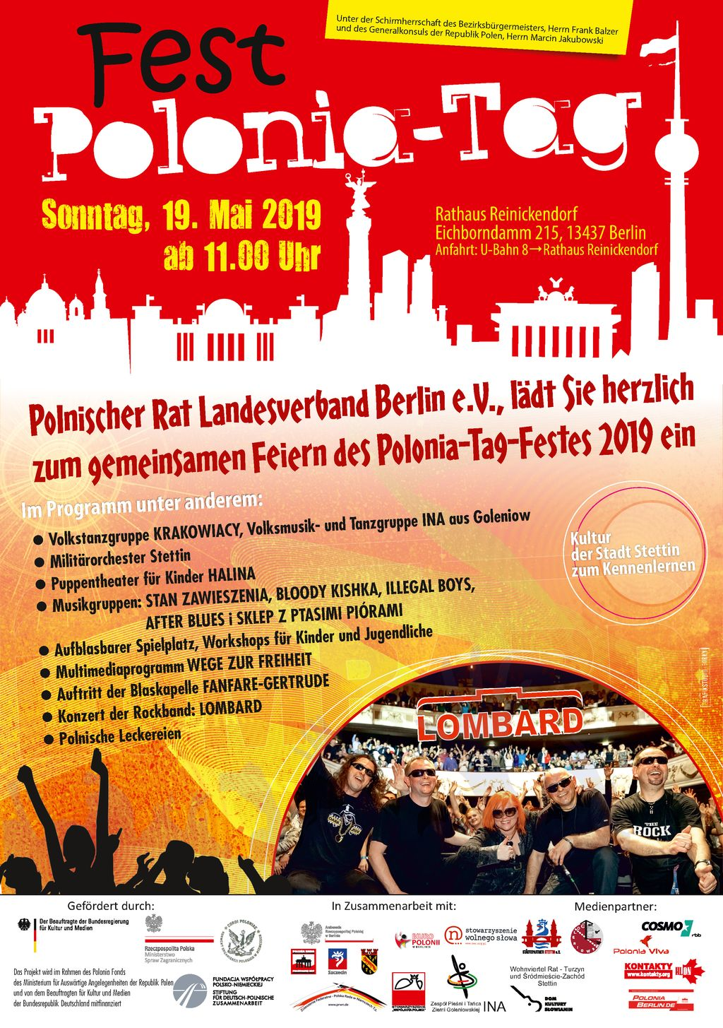 2019 Fest Polonia-Tag in Berlin